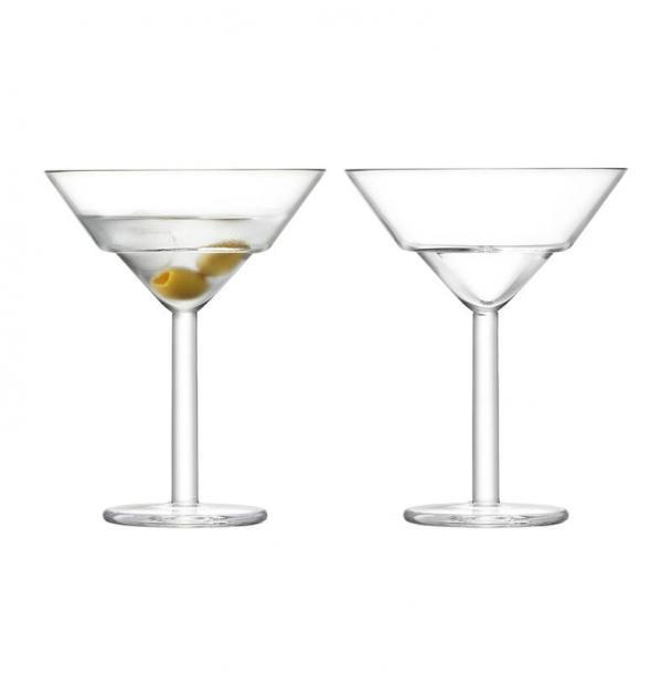 Набор из 2 бокалов для мартини LSA International Mixologist 230 мл