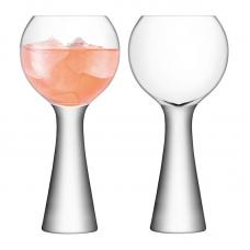 Набор из 2 бокалов для вина LSA International Moya 550 мл прозрачный