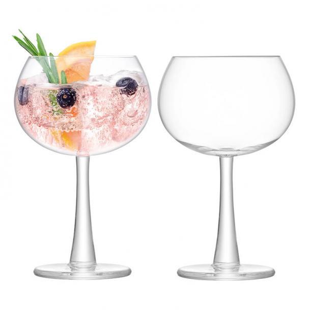 Набор из 2 круглых бокалов LSA International Gin 420 мл