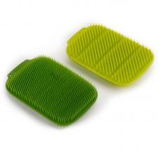 Набор из 2 малых щеток для мытья посуды Joseph Joseph Cleantech зеленый