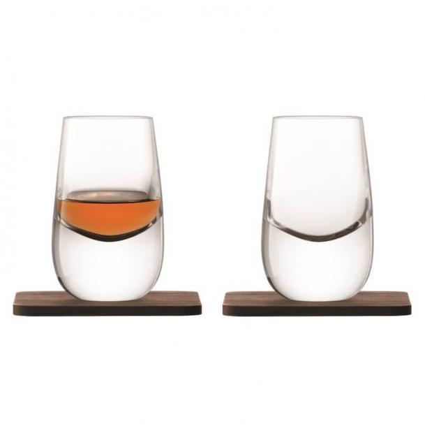 Набор из 2 шотов на подставках LSA International Whisky 80 мл