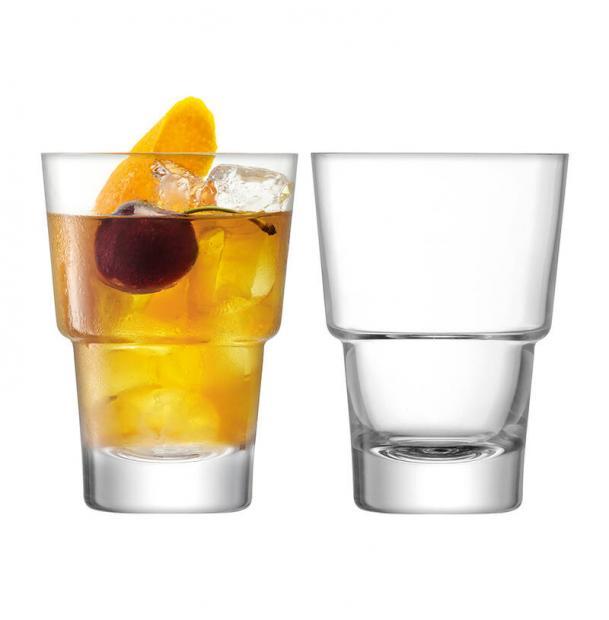 Набор из 2 стаканов для коктейлей LSA International Mixologist 320 мл
