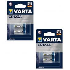 Набор из 4 батарей Varta CR123A