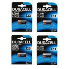 Набор из 4 батареек Duracell ULTRA CR123A BL1 Lithium 3V US 123106-4