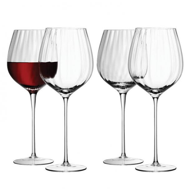 Набор из 4 бокалов для красного вина LSA International Aurelia 660 мл