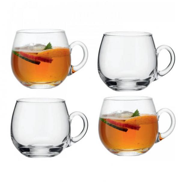 Набор из 4 чашек для пунша LSA International Serve 300 мл