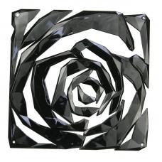 Набор из 4 декоративных элементов Koziol Romance чёрный