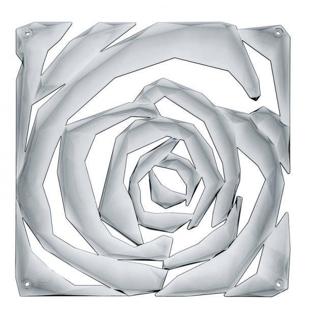 Набор из 4 декоративных элементов Koziol Romance серый