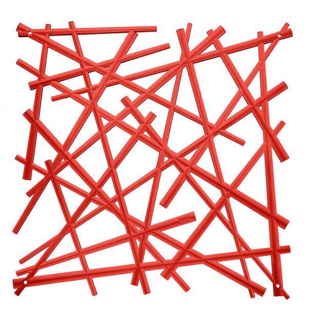 Набор из 4 декоративных элементов Koziol Stixx красный