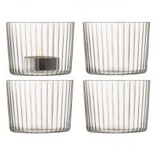 Набор из 4 подсвечников для чайных свечей LSA International Gio В6см