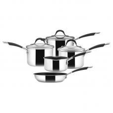 Набор из 4 сотейников и 1 сковороды Circulon Momentum нержавеющая сталь