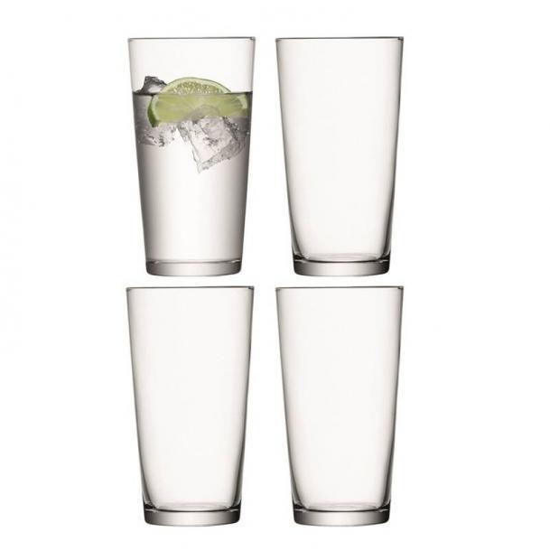 Набор из 4 стаканов для сока LSA International Gio 320 мл G059-11-992A