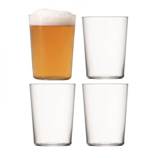 Набор из 4 стаканов LSA International Gio 560 мл