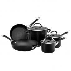 Набор из 5 кастрюль и сковородок CIRCULON Symmetry чёрный