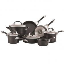 Набор из 7 кастрюль и сковородок CIRCULON Symmetry чёрный