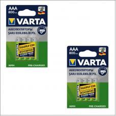 Набор из 8-ми аккумуляторов VARTA R2U Ready To Use Ni-MH AAA