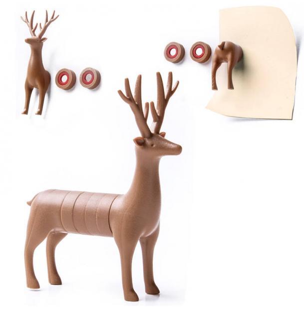 Набор магнитов Qualy My deer