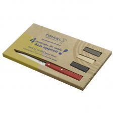Набор столовых ножей Opinel LOFT N°125, дерев. рукоять, нерж, сталь, кор. 001534