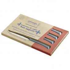 Набор столовых ножей Opinel полимерная ручка антрацит 001907