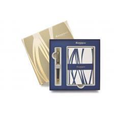 Набор: ручка шариковая Hemisphere Black + набор открыток и конвертов