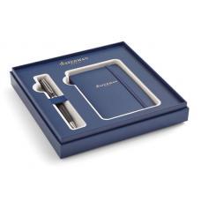 Набор: Шариковая ручка Waterman Expert  MBlk CT и блокнот