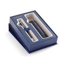 Набор: Шариковая ручка Waterman Hemisphere MBlk CT с чехлом