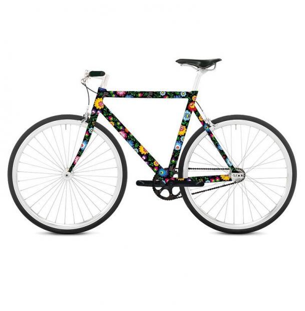Наклейка на раму велосипеда Remember Floretta