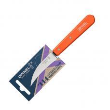 Нож для чистки овощей Opinel №114  блистер оранжевый