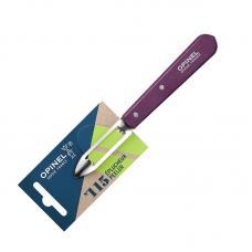 Нож для чистки овощей Opinel №115  блистер сливовый