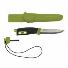 Нож Morakniv Companion Spark (S) Green, нержавеющая сталь, 13570