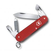 Нож перочинный VICTORINOX Cadet Alox, 84 мм, 9 функций, алюминиевая рукоять, красный