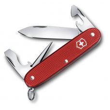 Нож перочинный VICTORINOX Pioneer, 93 мм, 8 функций, алюминиевая рукоять, красный