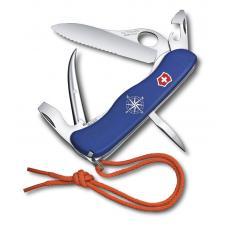 Нож перочинный VICTORINOX Skipper Pro, 111 мм, 12 функций, с фиксатором лезвия, со шнурком, синий