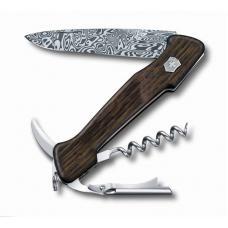 Нож перочинный VICTORINOX Wine Master, 130 мм, 6 функций, с фиксатором, рукоять из древесины дуба
