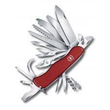 Нож перочинный VICTORINOX WorkChamp XL, 111 мм, 31 функция, с фиксатором лезвия, красный