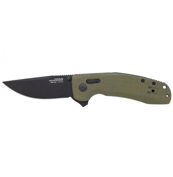 Нож SOG 12-38-02-57 SOG-TAC XR OD Green