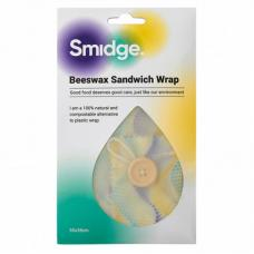 Обертка для сэндвича многоразовая Wave 35х35 см, пчелиный воск