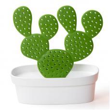 Органайзер для мелочей Qualy Caccessories, белый с зеленым