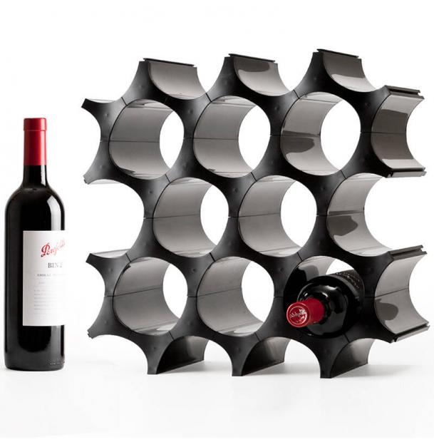 Органайзер Qualy Wine Cell черный