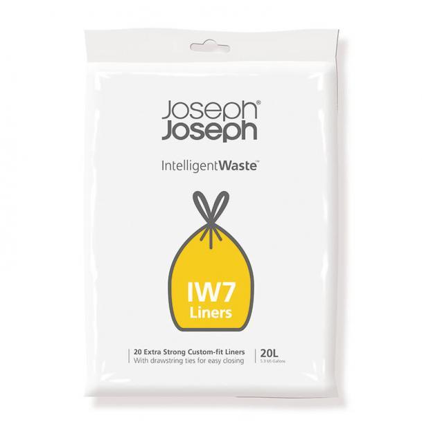 Пакеты для мусора Joseph Joseph IW7 20л экстра прочные (20 шт)