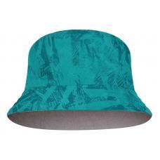 Панама Buff Travel Bucket Hat Acai Grey/Turquoise 125342.937.25.00