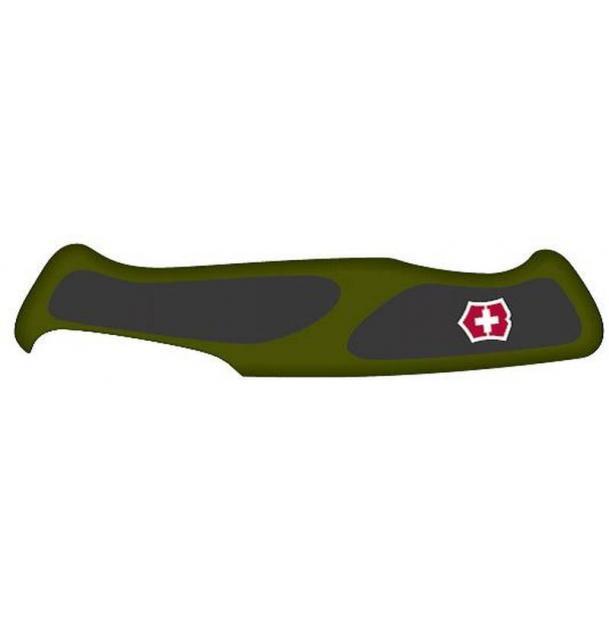 Передняя накладка для ножей VICTORINOX 130 мм, нейлоновая, зелёно-чёрная