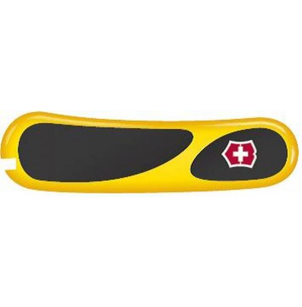 Передняя накладка для ножей VICTORINOX 85 мм, пластиковая, жёлто-чёрная