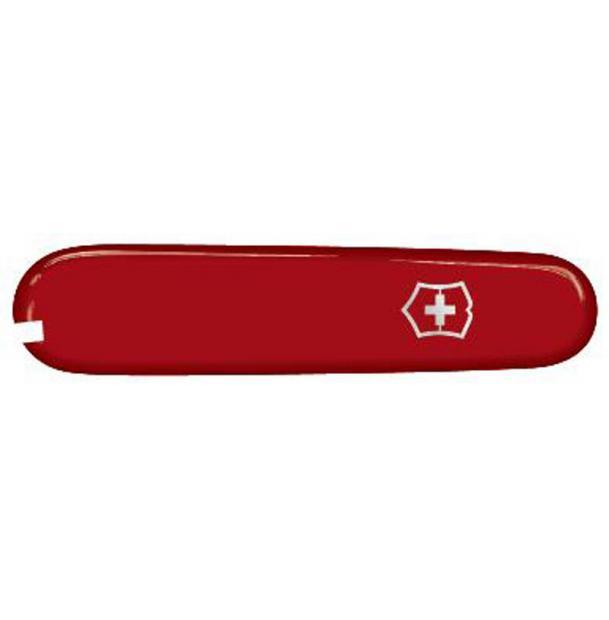 Передняя накладка для ножей VICTORINOX 91 мм, пластиковая, красная