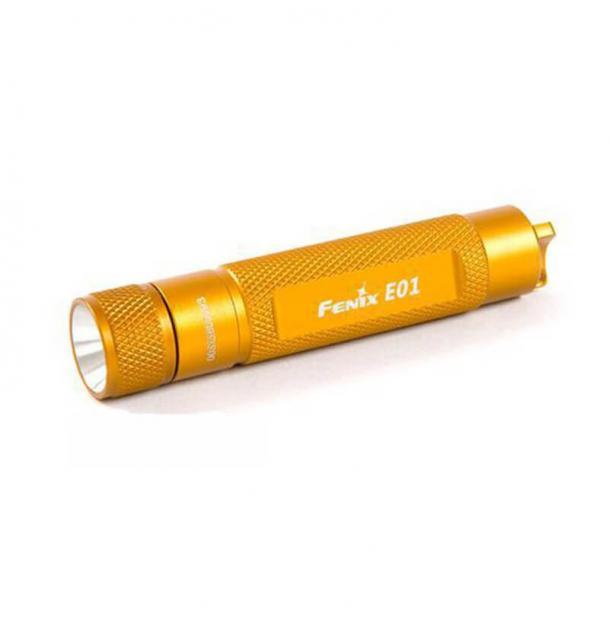 Фонарь Fenix E01 Orange