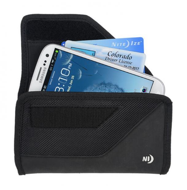 Чехол для телефона Nite Ize Clip Case Cargo SideWays Black L