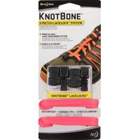 Шнурки с фиксатором Nite Ize KnotBone Stretch LaceLock System Neon Pink