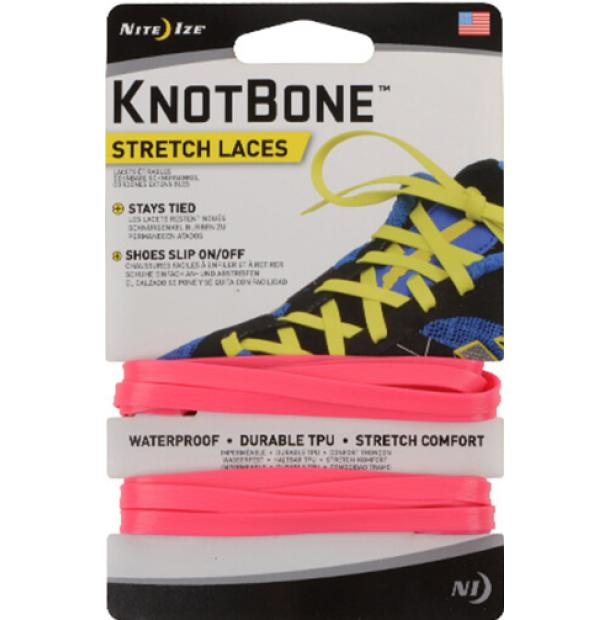 Шнурки Nite Ize KnotBone Stretch Laces Neon Pink KBL-35-2R7
