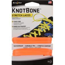 Шнурки Nite Ize KnotBone Stretch Laces Bright Orange