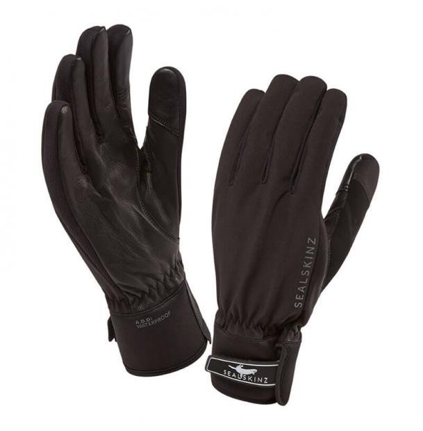 Перчатки водонепроницаемые SealSkinz All Season Gloves Black L